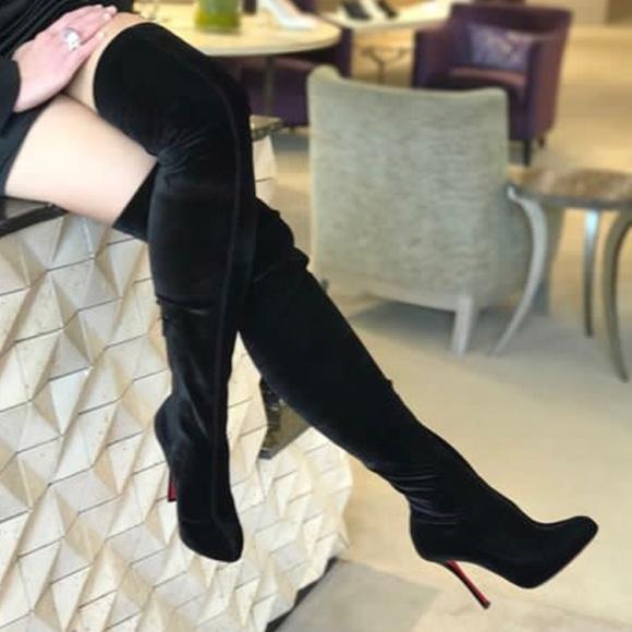 8d36223a0b85 Christian Louboutin Shoes - Christian Louboutin Classe Velvet